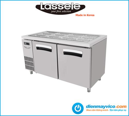 Bàn mát salad Lassele LSRT-2B-1500 1m5