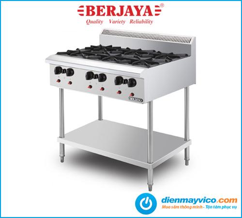 Bếp Âu 6 họng Berjaya OB6FS-17