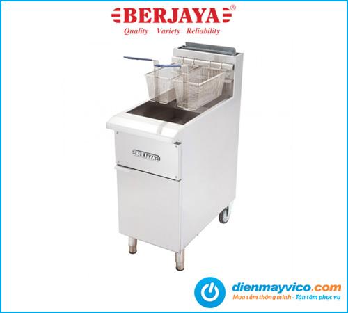 Bếp chiên nhúng Berjaya GDFE2BFS-17 dùng gas