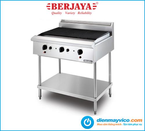 Bếp nướng gang nhân tạo Berjaya CB3BFS-17 dùng gas