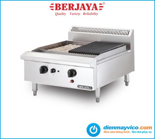 Bếp nướng than đá nhân tạo Berjaya CRB2B-17 dùng gas