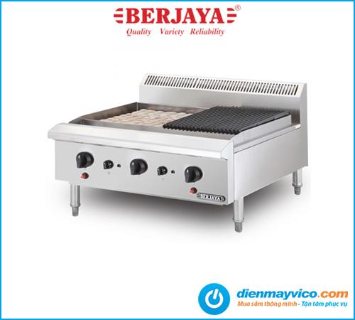Bếp nướng than đá nhân tạo Berjaya CRB3B-17 dùng gas