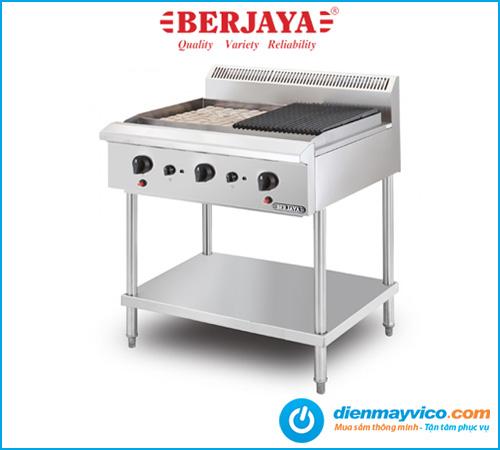 Bếp nướng than đá nhân tạo Berjaya CRB3BFS-17 dùng gas