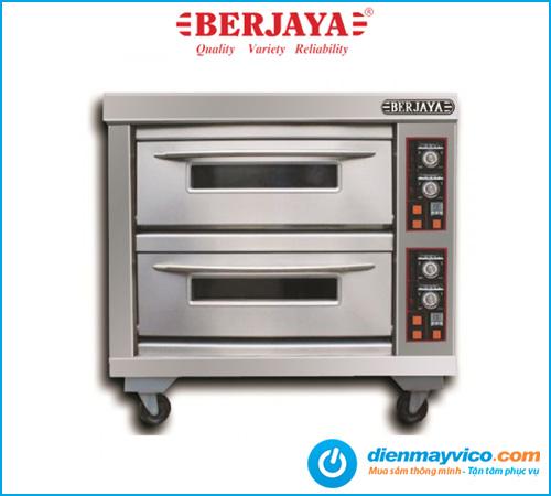 Lò nướng 2 tầng 4 khay Berjaya BJY-E13KW-2BD dùng điện