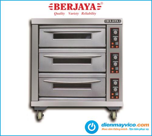Lò nướng 3 tầng 6 khay Berjaya BJY-E20KW-3BD dùng điện