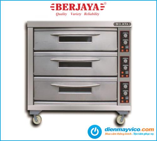 Lò nướng 3 tầng 9 khay Berjaya BJY-E25KW-3BD dùng điện