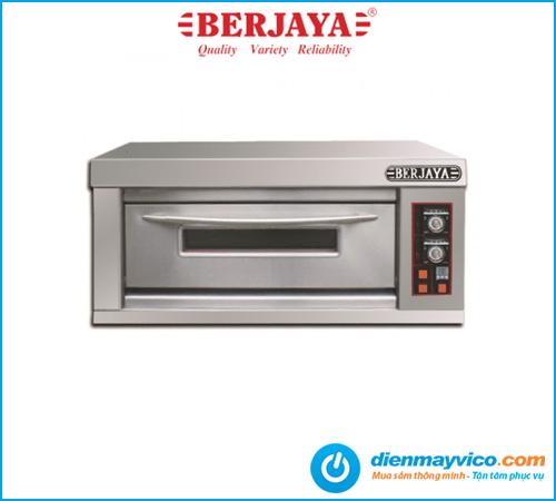 Lò nướng 1 tầng 2 khay Berjaya BJY-E6KW-1BD dùng điện