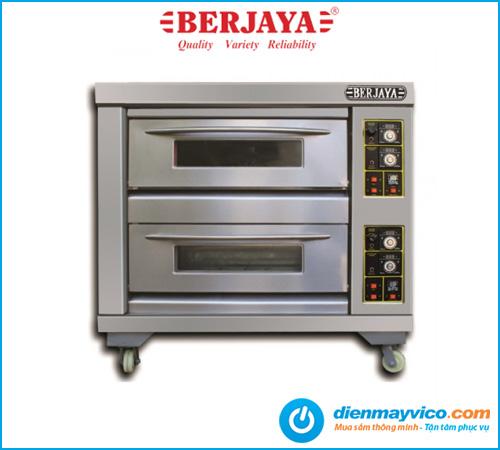 Lò nướng 2 tầng 4 khay Berjaya BJY-G120-2BD dùng gas