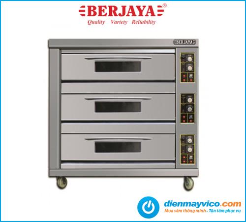 Lò nướng 3 tầng 6 khay Berjaya BJY-G180-3BD dùng gas