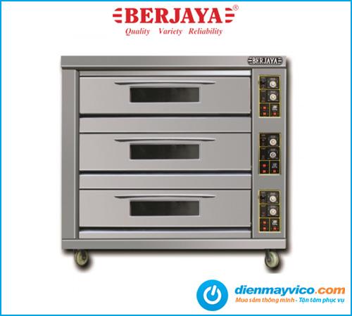 Lò nướng 3 tầng 9 khay Berjaya BJY-G270-3BD dùng gas