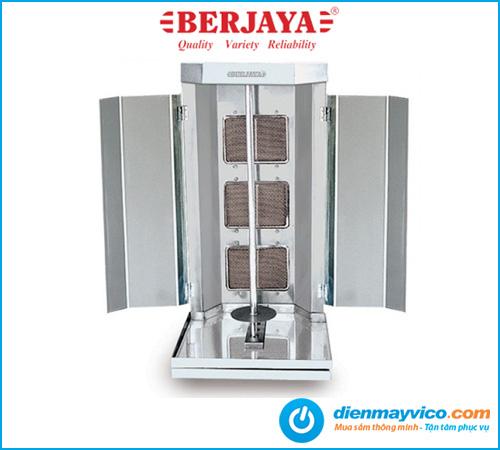 Lò nướng thịt kebab Berjaya KM3 dùng gas