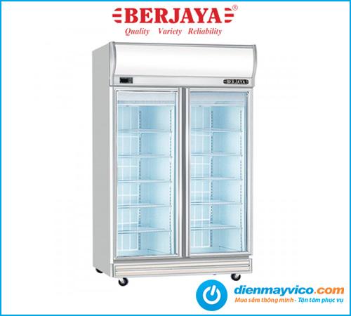 Tủ đông đứng 2 cánh kính Berjaya 2D/DF-SM-EV