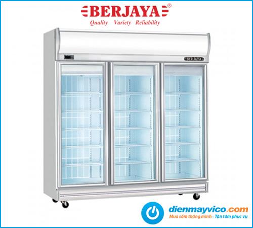 Tủ đông đứng 3 cánh kính Berjaya 3D/DF-SM-EV