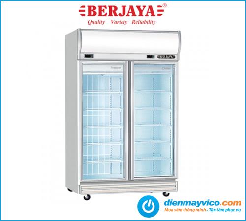 Tủ đông mát 2 cánh kính Berjaya 2D/DCF-SM