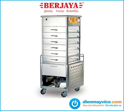 Tủ hấp bánh bao Berjaya ESM66 dùng gas