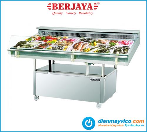 Tủ mát trưng bày hải sản Berjaya FDC8 2m4
