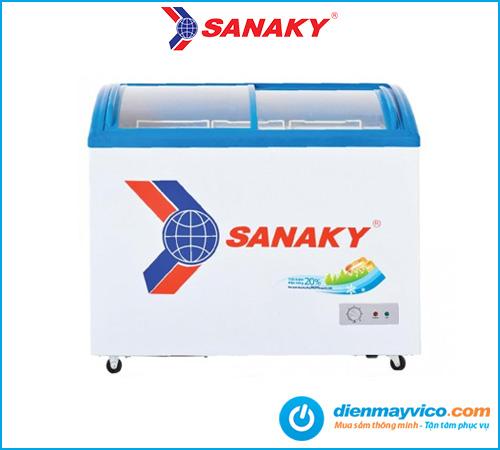 Tủ đông kính cong Sanaky Inverter VH-3899K3