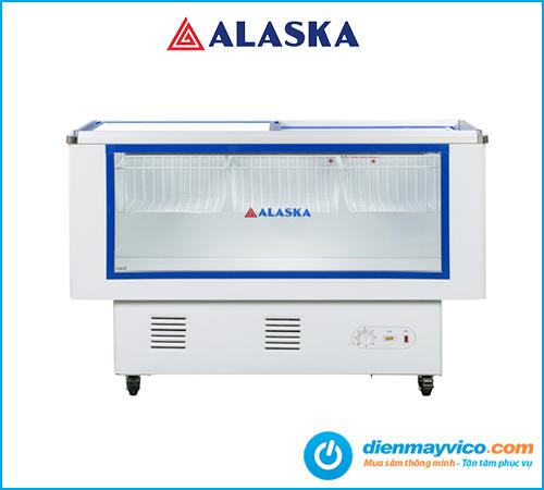Tủ mát nằm Alaska LC-450B hàng chính hãng, chế độ bảo hàng 2 năm.