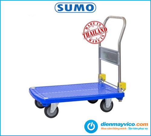 Xe đẩy hàng sàn nhựa Sumo NP-210C - Chính hãng Thái Lan, Giá tốt.