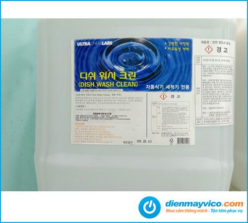 Hóa chất rửa chén Dish Wash Clean Korea 18.75L