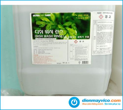 Hóa chất tráng Dish Wash Rinse Korea 18.75L