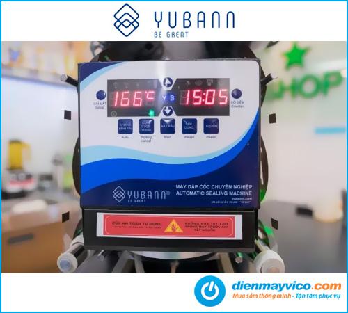 Máy dán miệng ly Yubann YB-88A