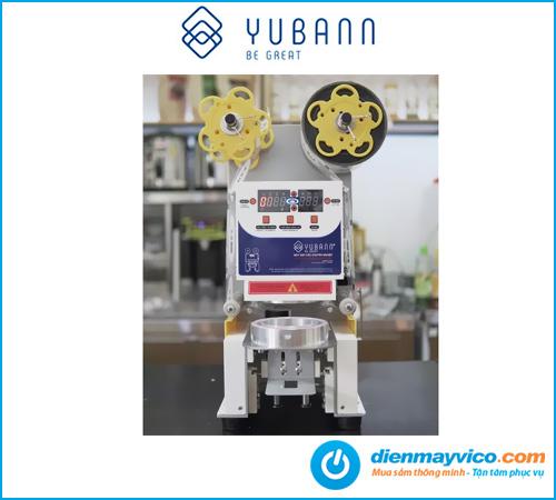 Máy dán miệng ly Yubann YB-95A