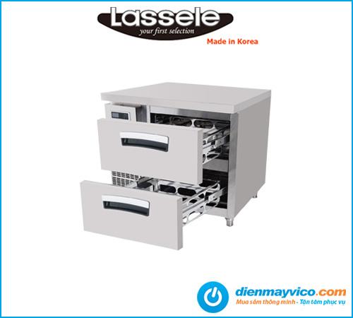 Bàn mát 2 ngăn kéo Lassele LNRT-1B-90-V 0.9m