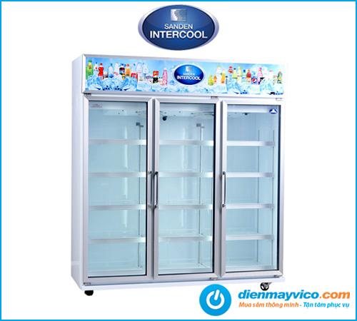 Tủ mát 3 cánh kính Sanden Intercool SDC-1500AY 1590 Lít