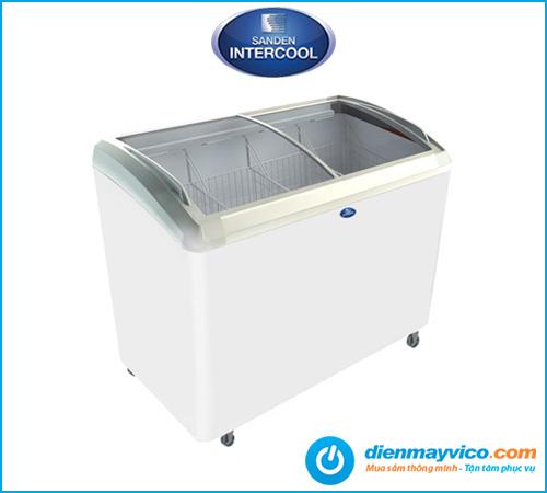 Tủ đông kính lùa Sanden Intercool SNC-0285 270 Lít