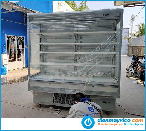 Thanh lý tủ mát siêu thị 2m