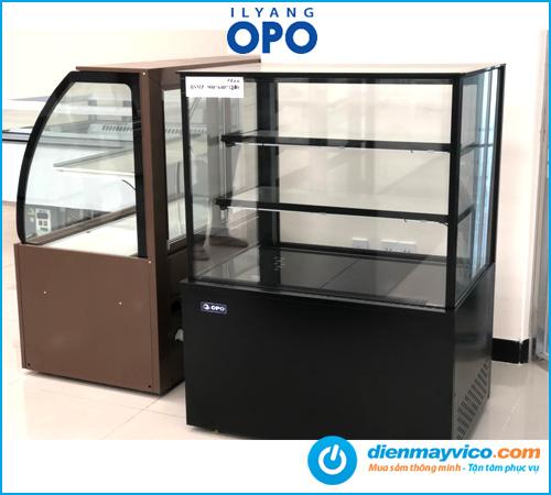 Tủ bánh kem kính vuông OPO BSMP 0.9m