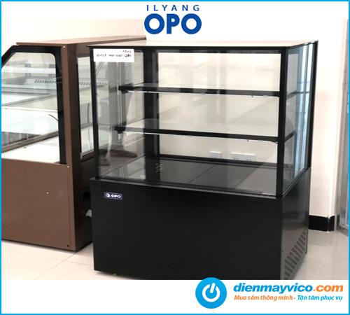 Tủ bánh kem kính vuông OPO BSMP 1m2