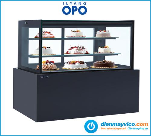 Tủ bánh kem kính vuông OPO BSMP 1m8