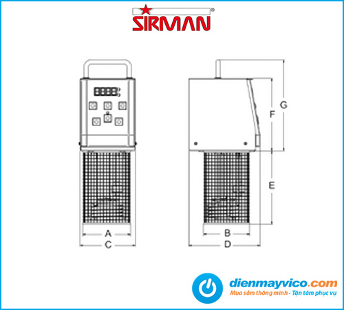 Máy nấu chậm Sirman SOFTCOOKER Y09