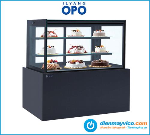 Tủ bánh kem kính vuông OPO BSMP 1m5