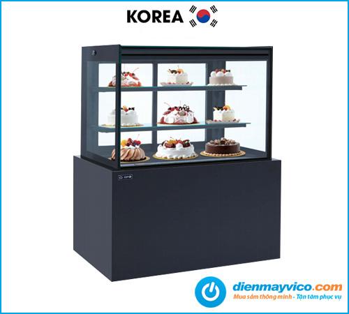 Tủ bánh kem kính vuông KOREA 0.9m