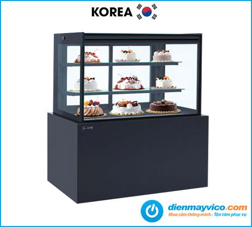 Tủ bánh kem kính vuông KOREA 1m2