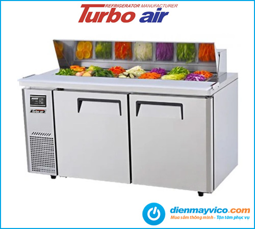 Bàn mát salad Turbo Air KHR15-2 1m5