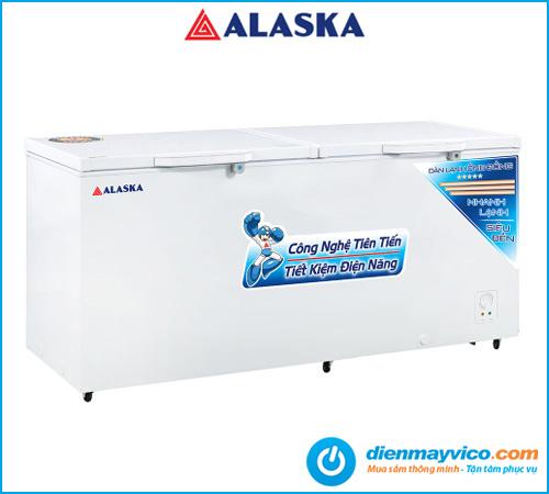 Tủ đông Alaska HB-1200C 1015 Lít chính hãng, giá tốt.