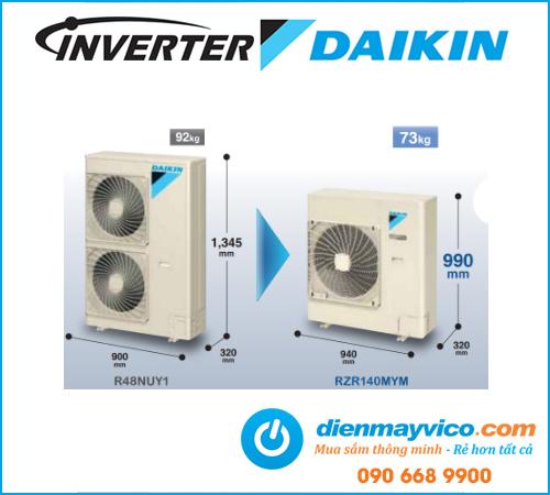 Máy lạnh âm trần Daikin Inverter FCQ100KAVEA 4.0 Hp