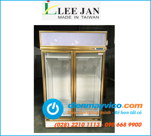 Tủ mát 2 cánh kính Leejan LJ-S003