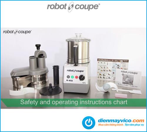 Máy cắt rau củ quả Robot Coupe R 402