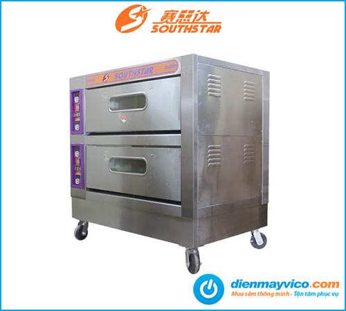 Lò nướng bánh 2 tầng 4 khay Southstar dùng điện