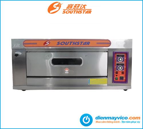 Lò nướng bánh 1 tầng 2 khay Southstar dùng gas