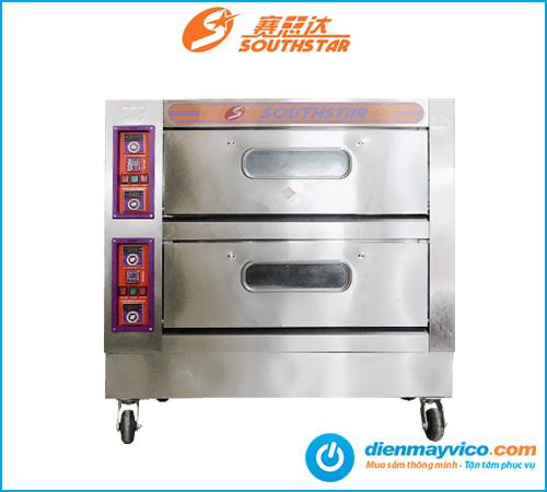 Lò nướng bánh 2 tầng 4 khay Southstar dùng điện | Nhập khẩu giá rẻ