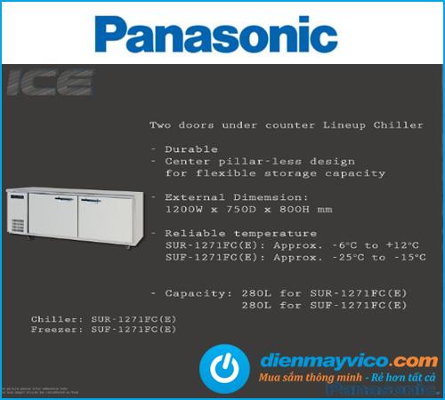 Bàn mát 2 cánh Panasonic SUR-1271FC(E)