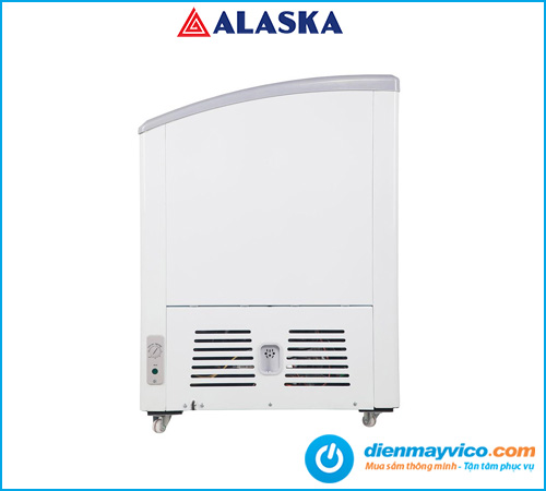 Tủ đông kem Alaska Inverter KC-210CI 210 lít
