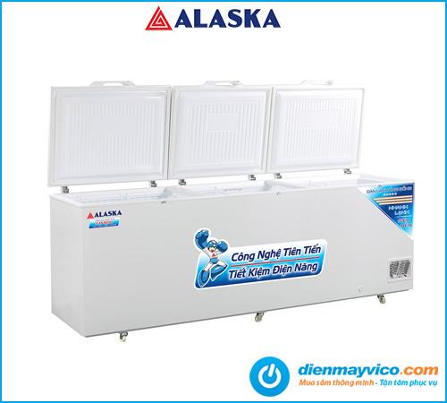 Tủ đông nắp dỡ Alaska HB-1100C 742 lít