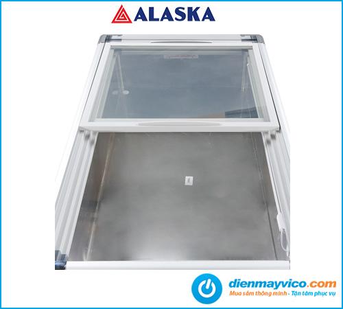 Tủ đông kính phẳng Alaska SC-4SD 220 lít